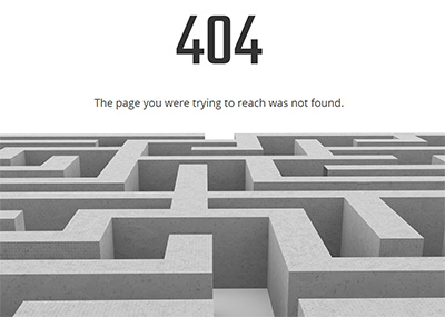 404 Lost Template
