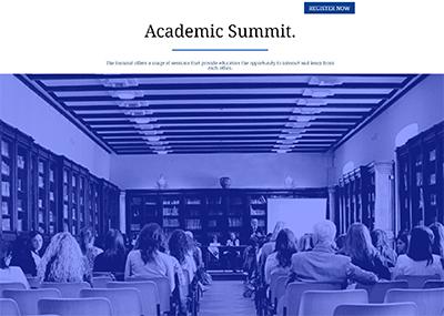 Academic Summit Template