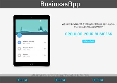 Business App Template