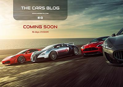 Cars Blog Template