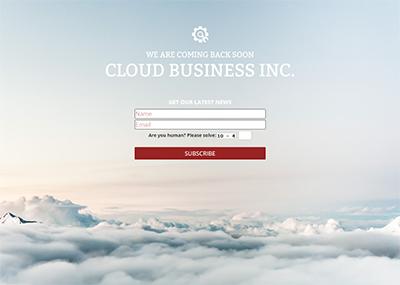 Cloud Business Inc. Template