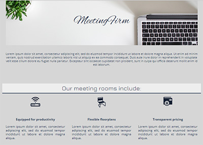Conference Rooms Template