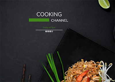 Cooking Channel Template