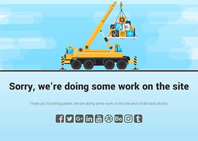 Crane at Work - C Template