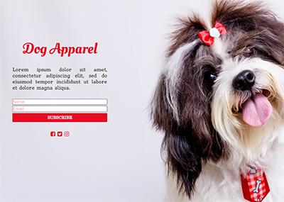Dog Apparel Template