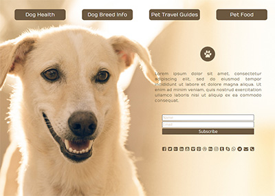 Dog Lovers Template