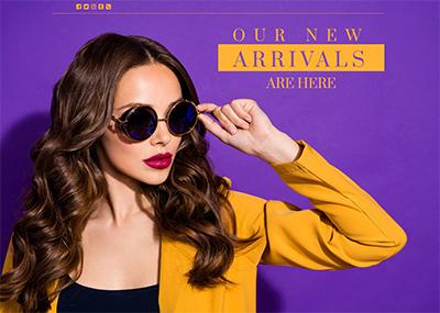 Eyewear Store Template