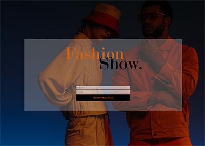 Fashion Show Template