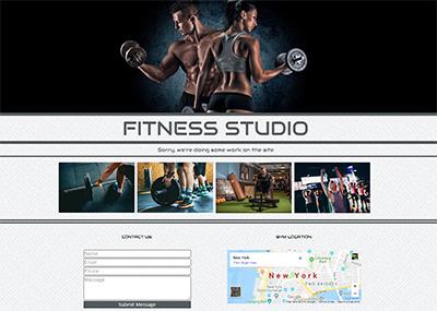 Fitness Studio Template