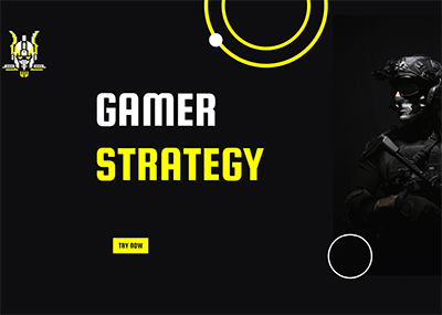 Gamer Strategy Template