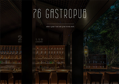 Gastropub Template