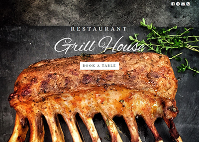 Grill House Template
