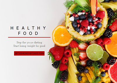 Healthy Food Template