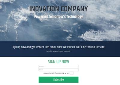 Innovation - Alex Template