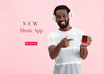 Music App Template