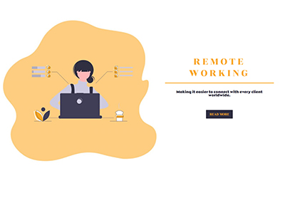 Remote Working Template