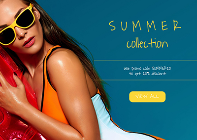 Summer Collection Template