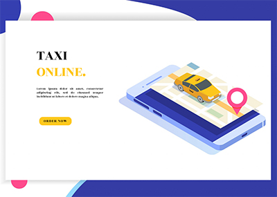 Taxi Service Template