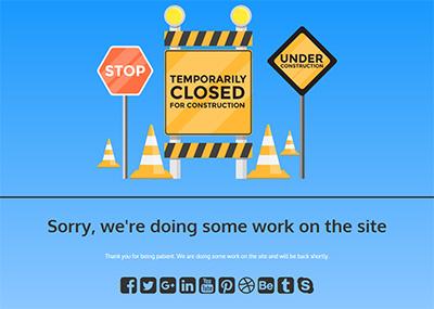 Temporarily Closed - C Template