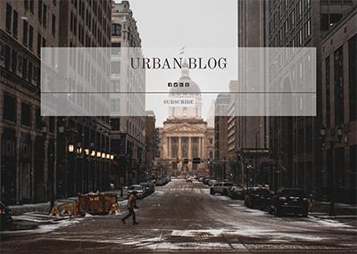Urban Blog Template