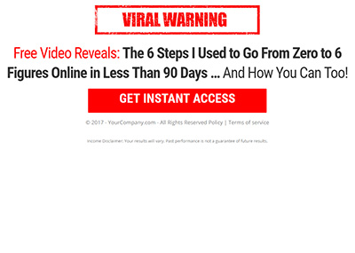 Viral Income Template