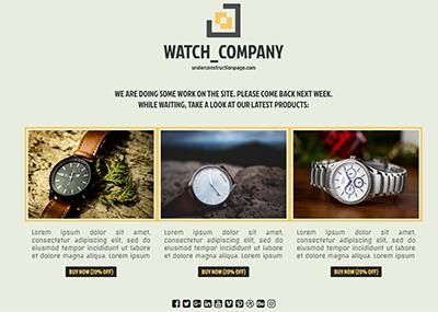 Watch Company Template