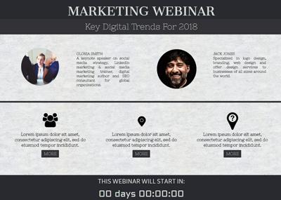 Marketing Webinar Template