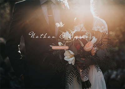 Wedding Story Template